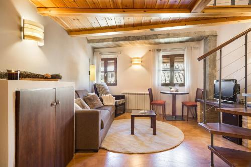 Junior Suite with Mountain View Posada de Uncastillo 6