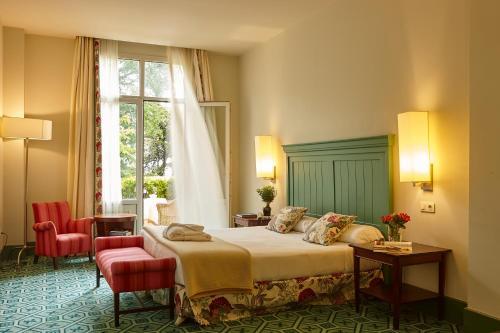 Superior Doppelzimmer mit Terrasse Palacio Urgoiti 1