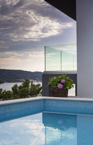 . Villa Regina with swimming-pool and sea view