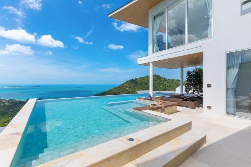 Luxury Ocean View Pool Villa with 4br苏梅岛梦幻海景4卧泳池别墅 Luxury Ocean View Pool Villa with 4br苏梅岛梦幻海景4卧泳池别墅