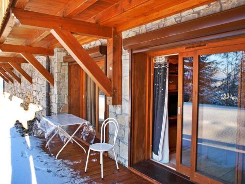 . Ize, 1 chambre, 4 personnes avec terrasse en rez de jardin