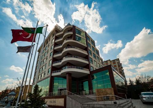 Ankara Akman TZOB Otel harita