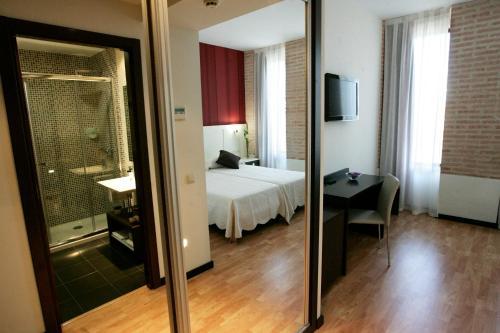 Doppel- oder Zweibettzimmer - Einzelnutzung Hotel la Bastida 35