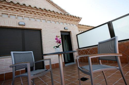 Habitación Doble con terraza - 1 o 2 camas Hotel la Bastida 18