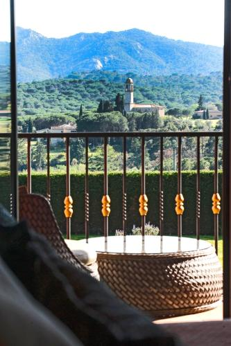 Double Room with Terrace and Spa Access Mas Tapiolas 5
