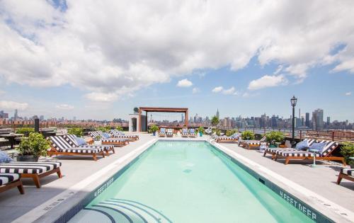 The Williamsburg Hotel, 96 Wythe Avenue, Brooklyn, New York 11249, United States.