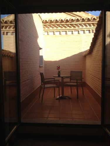 Habitación Doble con terraza - 1 o 2 camas Hotel la Bastida 16