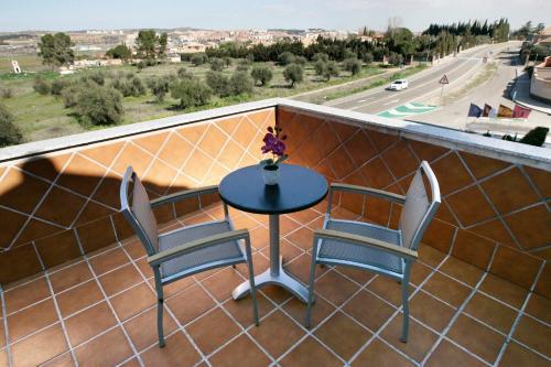 Habitación Doble con terraza - 1 o 2 camas Hotel la Bastida 17