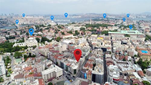 Istanbul Marinem Hotel Istanbul adres