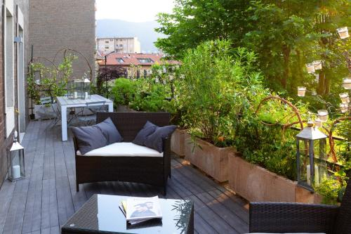 Style Design Terrazza in Como Centro By Logicasa