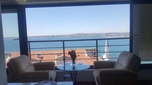 Gürpınar Unique full sea view apartment tatil