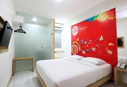 Fasilitas kamar Citismart Hotel Pekanbaru