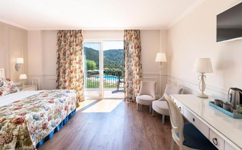 Premium Double Room with Sea View Hotel BlauMar Llafranch 1