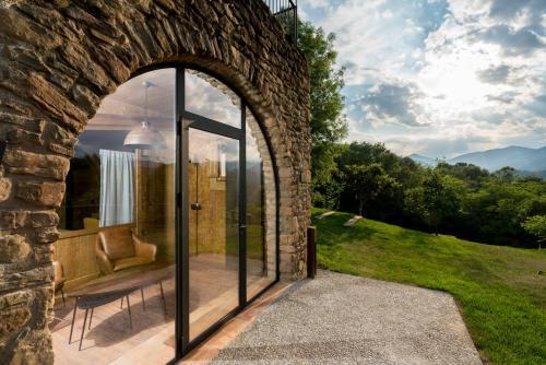 Suite Junior con vistas al jardín  Hotel Mas la Ferreria 10