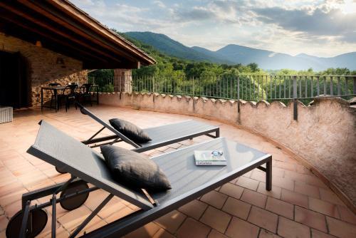 Habitación Doble Deluxe - Uso individual Hotel Mas la Ferreria 7