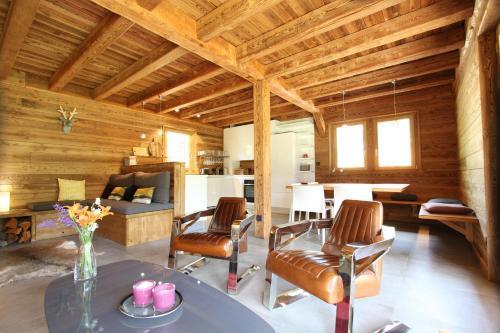 Chalet luxe Twin B avec piscine intérieure et sauna Serre Chevalier Villeneuve