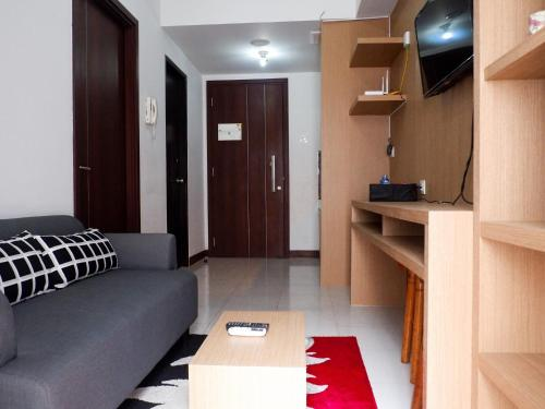 Cozy 1BR Scientia Residence Apartment near Summarecon Mall Gading Serpong By Travelio, Tangerang