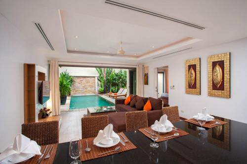 Two-Bedroom Duplex Villa with Private Pool