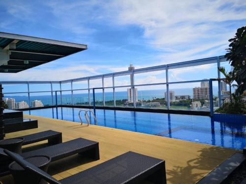 2Beds with Goose bedding Seaview in Pratamnak Hill 2Beds with Goose bedding Seaview in Pratamnak Hill
