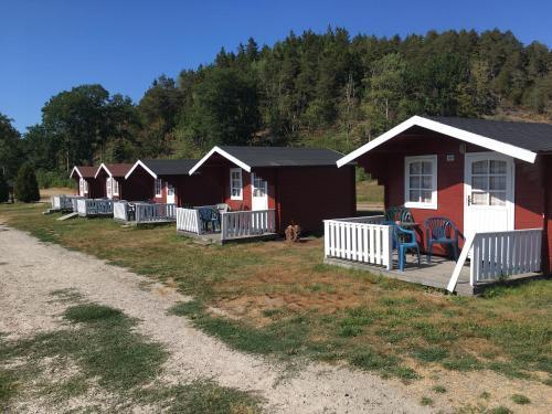 Hotel-overnachting met je hond in Dynestrands camping - Strömstad
