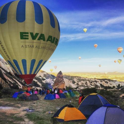 Uchisar Cappadocia Camping harita