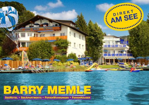 Barry Memle Directly at the Lake, Pension in Velden am Wörther See bei Pritschitz