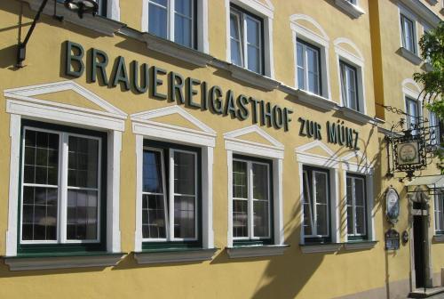 . Brauereigasthof zur Münz seit 1586 Frühstück to go Abendessen bis 20 Uhr Sky