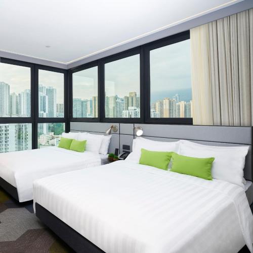 Hotel Ease Access Tsuen Wan 房间的照片