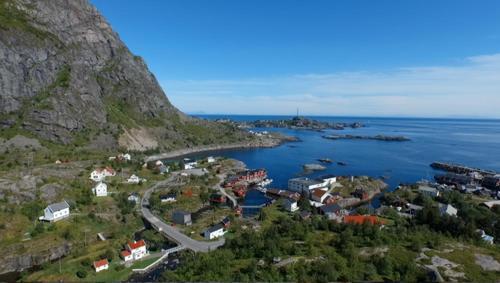 Theahuset, Vestvågøy