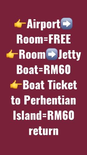 Airport Shuttle Freebies Transit Rooms, Kota Bharu