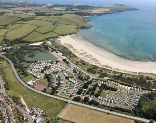 Par Sands Coastal Holiday Park, Tywardreath, Cornwall