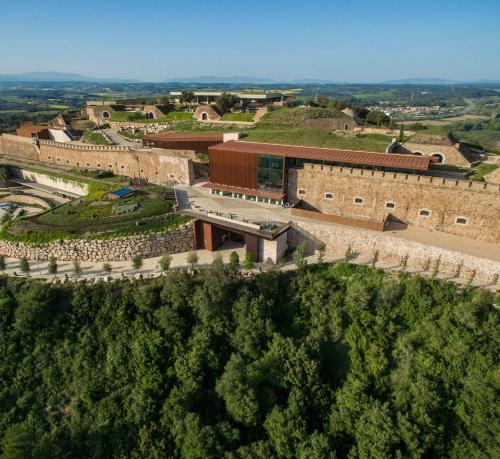 La Fortalesa de Sant Julià, Carrer Major, Sant Julià de Ramis, Girona, Spain.
