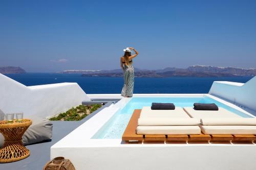Seaside Hotels In Santorini Greece Trip101
