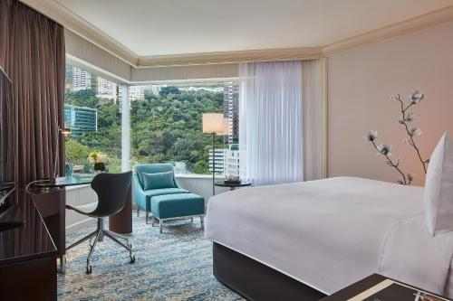 JW Marriott Hotel Hong Kong 房间的照片