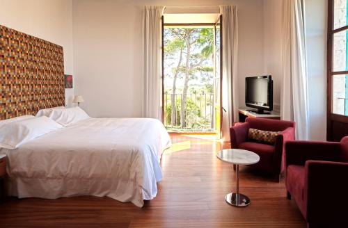 Superior Twin Room with Terrace Sa Cabana Hotel & Spa - Adults Only 1