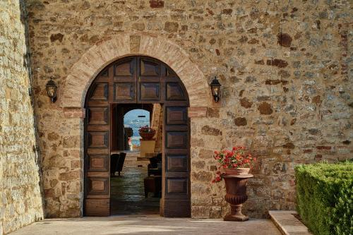 Kasteel-overnachting met je hond in Castello Di Velona - Montalcino