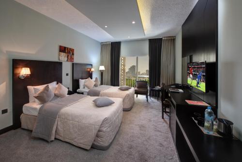 Sharjah Carlton Hotel room photos