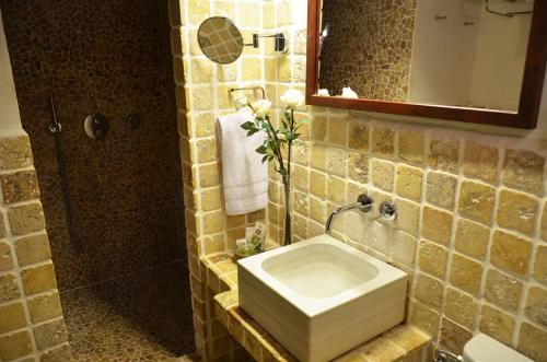 Habitación Doble Superior con terraza Hotel Galena Mas Comangau 80