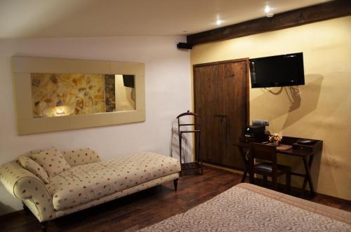 Habitación Doble Superior con terraza Hotel Galena Mas Comangau 84