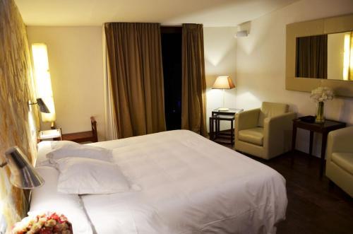 Habitación Doble Superior con terraza Hotel Galena Mas Comangau 51