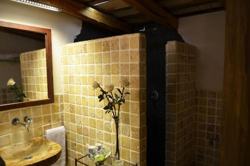 Habitación Doble Superior con terraza Hotel Galena Mas Comangau 85