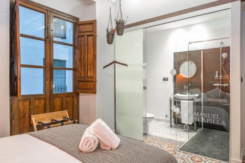 Habitación Doble con balcón  - Uso individual Manuel de La Capilla 10