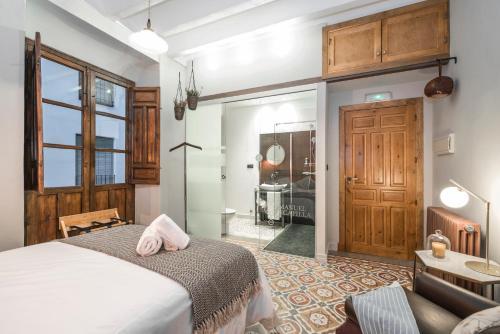 Habitación Doble con balcón  - Uso individual Manuel de La Capilla 9