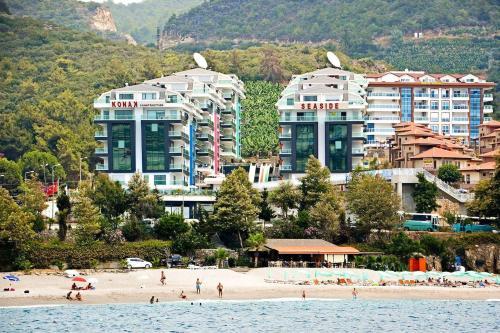 Kargicak Konak Seaside Homes 1+1 Luxury Apartments seaside tek gece fiyat