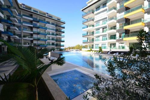 Mahmutlar Konak Seaside Resort 1+1 Luxury Apartments odalar