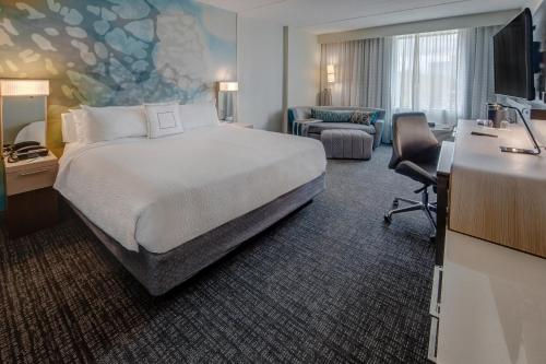 Courtyard by Marriott Dulles Airport Herndon foto della camera