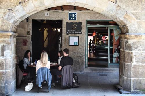 Rúa do Vilar 17, Santiago de Compostela, A Coruña, Spain.