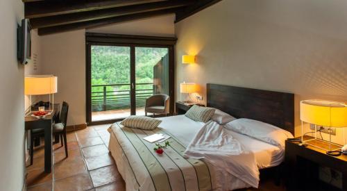 Habitación Doble Hotel Rural-Spa Resguard Dels Vents 10