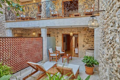 Double Room with Terrace - Annex - single occupancy Cas Comte Suites & Spa - Adults Only 70