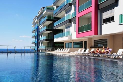 Mahmutlar Konak Seaside Homes lux Penthaus 3+1 fiyat